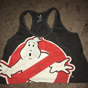 Ghost busters crop top